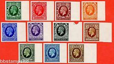 SG. 439 - 449. N47 - N62. ½d - 1/-. IMPRIMATUR. A superb UNMOUNTED MINT.