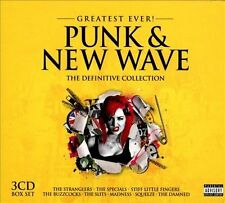 Greatest Ever! Punk & New Wave: The Definitive Collection [Box] [PA] by...