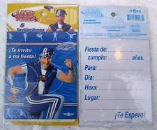 LAZY TOWN Party 12 INVITATIONS Favor Birthday SPORTACUS Decoration Treats Boy NW