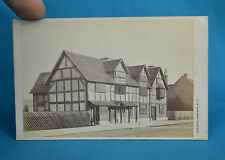 1870s Scenic CDV Carte De Visite Shakespeare House Exterior By Cundall Downes