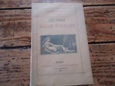 RARE- ONZE MILLE VIERGES HOUSSAYE - EO 1885 ALFRED MOUSSE BAUDELAIRE POEME PROSE