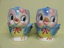 RARE/VHTF Lefton Blue Bird Children's Mugs (2)