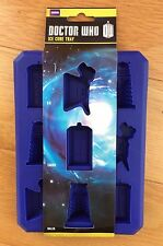 DOCTOR WHO Ice Cube Tray / Chocolate Mould /Jelly Shots TARDIS DALEK K9 Silicone