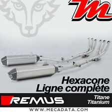 Ligne Complète Pot échappement Remus Hexacone titane Race BMW K 1600 GTL 2014