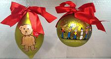 Swarovski Elements Mario Thomas (Set of 2) Christmas Tree Ornament