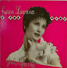 KAREN LAWRENCE & THE PINZ: Girls Night Out-M1981LP PICTURE SLEEVE