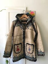 CHAMULA LIMITED EDITION Knit Zip Jacket Coat Small Chimayo Vintage Madewell XS