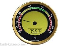 CALIBER IV ROUND ADJUSTABLE DIGITAL HYGROMETER
