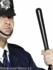 MEN'S POLICEWOMAN POLICEMAN PLASTIC BATON STAG HEN NIGHT FANCY DRESS COP FUN
