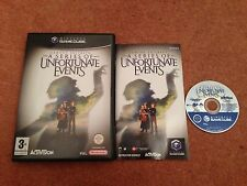 A SERIES OF UNFORTUNATE EVENTS NINTENDO GAMECUBE GAME WITH MANUAL OFFICIAL PAL