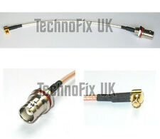 Angled MCX male to BNC female pigtail for RTL-SDR dongles, Newsky TV28T etc.
