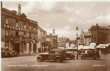 Market Place Chippenham Motor Car Angel Hotel Pub unused RP pc 1933 Valentines