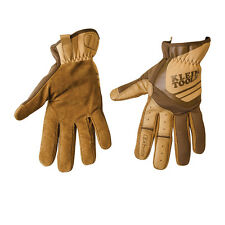 Klein Tools 40226 Journeyman Leather Utility Gloves, Size Medium