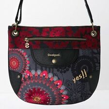 DESIGUAL Bolso Brooklyn New Red - Bag - Sac - Nuevo.