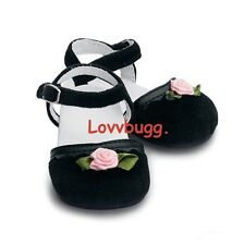 "My Twinn Black Velvet Shoes for 23"" Girl Doll Wow Selection Accessories!"