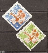 Rusia Russia URSS CCCP yv # 2059/2060 ** MNH Set  Soviet youth /Juventud
