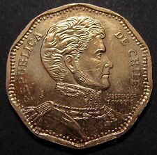 CHILE, 50 PESOS 2014, KM# 219, HIGH QUALITY COPPER-NICKEL COIN, LOT # 24