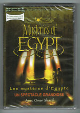 LES MYSTERES D'ÉGYPTE - OMAR SHARIF - UN SPECTACLE GRANDIOSE - DVD NTSC NEUF NEW
