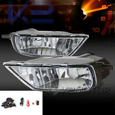 98-03 Toyota Sienna Clear Front Bumper Driving Fog Lights Lamps+Switch