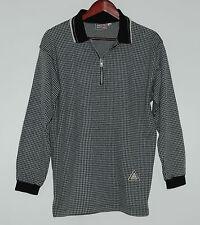 T-shirt polo homme Col zippé Manches longues Taille M Bon état