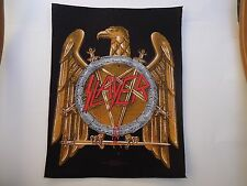 SLAYER GOLDEN EAGLE BACK PATCH
