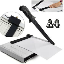 High Quality A4 A5 Office Industrial Paper Cutter Trimmer Guillotine Heavy Duty