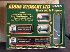 CORGI Eddie Stobart truck set & playmat lorry with trailer Vans New in box 60023