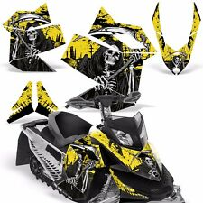 Decal Graphic Kit Ski Doo Rev XP Skidoo Sled Snowmobile Wrap Decal 08-12 REAP Y