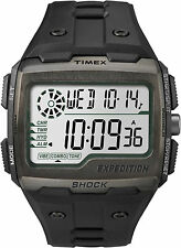 New Timex Men's Expedition Grid Shock Outdoor Sports Watch Black TW4B02500