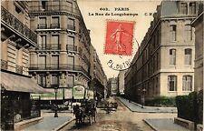CPA PARIS 16e-Rue de Longchamps (326371)