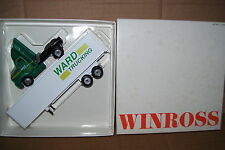 1994 Ward Trucking Altoona PA Winross Diecast Trailer Truck