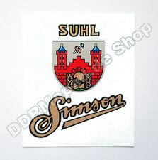 Aufkleber Simson Suhl - SR1, SR2, AWO *NEU & Top Qualität*