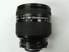 Nikon AF NIKKOR 24-120mm f/3.5-5.6D Zoom Lens ( made in Japan )