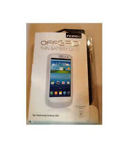 OEM Incipio Offgrid Extended Battery Case 2000mAh For Galaxy S3 SIII GS3 White