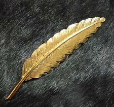 Gold Plated Wedding Dress Brooch Leaf Brooches Broche Pin Up For Wedding