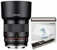 Samyang 35mm F1.2 ED AS UMC CS APS-C Standard Angle Lens for Sony E mount ILCE