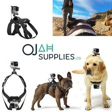 Pet Dog Fetch Chest Harness Strap Belt Mount For GoPro Hero 4 3+ 3 2 1 Cameras