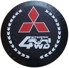 """Spare Wheel Tire Cover Soft Series Mitsubishi Montero 30"""" Black Tire Cover"""