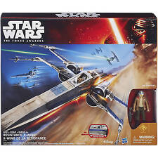 Star Wars The Force Awakens Blue Resistance X-Wing Poe Dameron Hasbro Walmart
