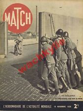 Match n°72 16/11/1939 Hollande Wihelmine Tallinn attentat de Munich missionaire