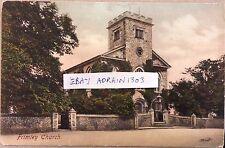 Frimley Church Friths 1906 Farnborough PMK To Miss Spong Horton Nr Epsom