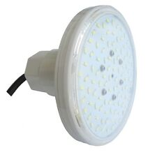 "LED Pool Light SW 12V AC 7W Aussengewinde 1 1/2"" Lichtfarbe warmweiss"