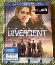 Divergent (Blu-ray/DVD/Digital HD) Two Disc Walmart Collector's Edition