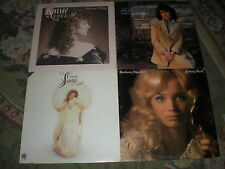 Lot of 6- Female Country LPs-70s-80s-The Judds-Kathy Mattea-Holly Dunn-Connie Sm