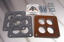 """Small WCFB Carter Phenolic Carb Insulator Spacer Holley Teapot Intake Riser 1/2"""""""