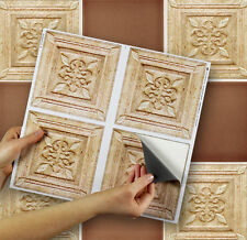 "4 Tile Transfer Stickers 6"" x 6"" ROMANO for Kitchen & Bathroom tiles"