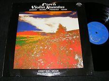 2 LP Gatefold CZECH VIOLIN SONATAS Supraphon JOSEF SUK Jan Panenka 1978 JANACEK