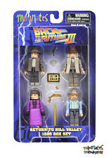 Back to the Future Minimates Return to Hill Valley 1885 Box Set