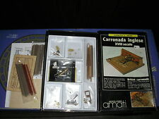 RARISSIMO KIT NAVE CARRONADA INGLESE 170 AMATI NUOVO IN BOX DA COLLEZIONE