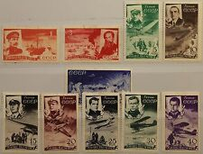 RUSSIA SOWJETUNION 1935 499-08 C58-7 Rescue Ice Breaker Chelyuskin Planes MLH MH